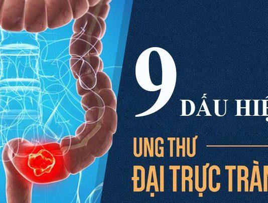 9 dấu hiệu ung thư đại trực tràng