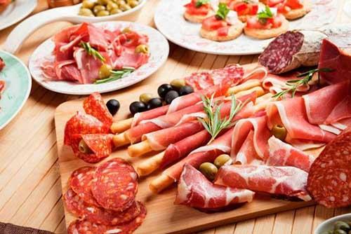 thịt đỏ, thực phẩm lên men